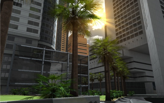 3D urban environment by SimplySim